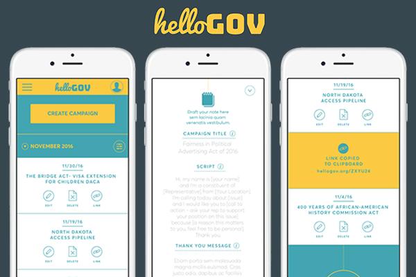 smartphones using hellogo app
