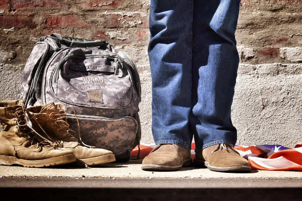 Veteran returned from service to civilian life